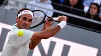 Roger Federer n'a pas manqué ses retrouvailles avec Roland-Garros.