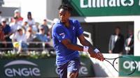 Gaël Monfils est en 8e de finale de Roland-Garros pour la 8e fois de sa carrière.