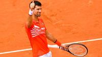Novak Djokovic est en quarts de finale pour la dixième année de suite.
