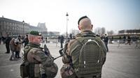Des militaires de l'opération Sentinelle, à Paris (illustration).