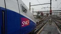 Les passagers épuisés et en colère ont dû quitter leur TGV pour monter dans un autre train sur le même quai. (photo d'illustration)