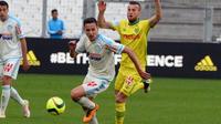 Déjà buteur décisif en Coupe de France, Florian Thauvin a permis à Marseille de décrocher un point.