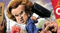 Emmanuel Macron comparé à Margaret Thatcher en une de The Week, en avril 2018.