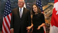 L'Américain Rex Tillerson et la Canadienne Chrystia Freeland présideront la réunion.