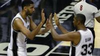 Les San Antonio Spurs (photo) et les Golden State Warriors dominent la saison régulière en NBA.