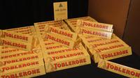 Les barres Toblerone ont notamment rétréci, avec plus d'écart entre les triangles.