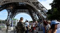La tour Eiffel était l'une des cibles du commando terroriste.