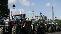 Plus de 1500 tracteurs ont convergé vers la capitale