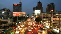 Le trafic à Bangkok. La Thaïlande est l'un des pays les plus touchés par la mortalité routière.