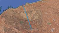 Plus de 300 km séparent les villes de Newman et de Port Hedland, au nord-ouest de l'Australie.