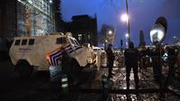 Un important dispositif policier a été déployé autour du Palais de Justice de Bruxelles.