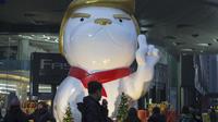 La statue #TrumpDog a été inaugurée devant un mall de Taiyuan, dans la province du Xanji.