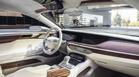 Le concept Vision G Coupé de Hyundai intègre des écrans sur l'ensemble de son tableau de bord.