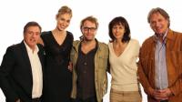 De gauche à Droite Daniel Auteuil, Pauline Lefèvre, Florian Zeller, Valérie Bonneton et François-Eric Gendron