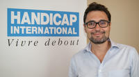 Willy Bergogne, Handicap International