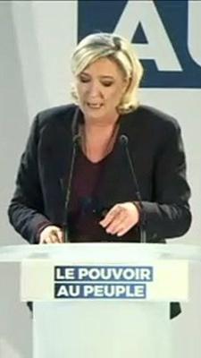 Marine le Pen compare Emmanuel Macron à Fidel Castro