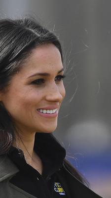 L'actrice Meghan Markle, fiancée du prince Harry, aux Invictus Games à Sidney en avril 2018.