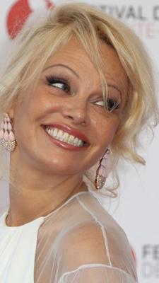 Pamela Anderson lors de la cérémonie d'ouverture du 57e Festival de télévision de Monte-Carlo, le 16 juin 2017, à Monaco.