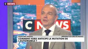 Louis-Carl Vignon, président de FORD en France  - L'Hebdo de l'Eco