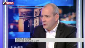 Laurent Berger : Sans Détours du 22/09/2019