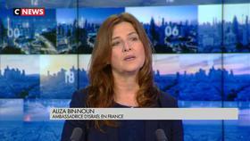 Aliza Bin-Noun invitée du Carrefour de l'info