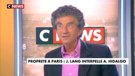 Jack Lang invité de Jean-Pierre Elkabbach