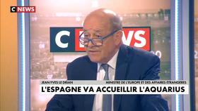 Jean-Yves Le Drian invité de Jean-Pierre Elkabbach