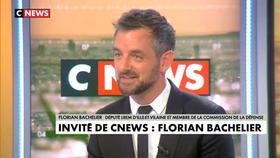Florian Bachelier invité de Jean-Pierre Elkabbach