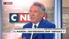 François Bayrou invité de Jean-Pierre Elkabbach