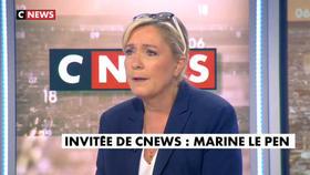 Marine Le Pen invitée de Jean-Pierre Elkabbach