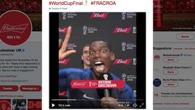 Vidéo : Paul Pogba trolle Antoine Griezmann en pleine interview