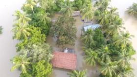 Le Sri Lanka sous les eaux
