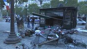 Dégâts considérables à Paris au lendemain de la victoire des Bleus