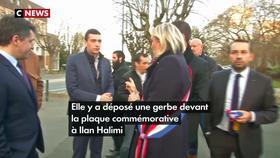 Antisémitisme : Marine Le Pen rend un hommage séparé à Ilan Halimi