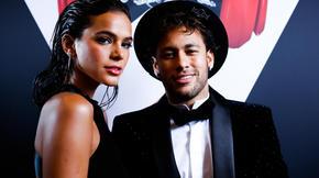Neymar et sa compagne Bruna Marquezine