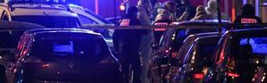 Des policiers sur les lieux où Chérif Chekatt a été abattu à Strasbourg, le 13 décembre 2018 [SEBASTIEN BOZON / AFP]
