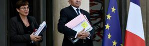 Gérard Collomb (C), le 24 septembre 2018 à l'Elysée [Philippe LOPEZ / AFP]