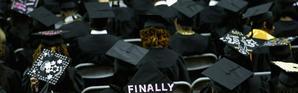 PHOTO D'ILLUSTRATION: des étudiants de Bowie State University pendant la cérémonie de remise des diplômes le 17 mai 2013 à College Park, dans le Maryland [CHIP SOMODEVILLA / GETTY IMAGES NORTH AMERICA/AFP/Archives]