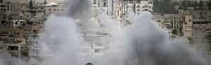 Bombardements dans la province de Deraa, le 22 mai 2018 en Syrie [Mohamad ABAZEED / AFP/Archives]
