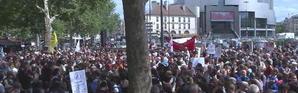 La marche solidaire pour les migrants fait une étape à Paris