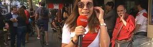"""""""La France est une grande équipe"""", salue une supportrice péruvienne"""