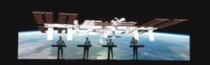 Un concert électro depuis la Station spatiale internationale