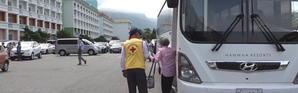 Des familles coréennes se retrouvent après 65 ans de séparation