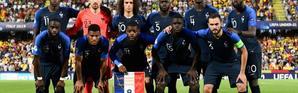 L'équipe de France des -21 ans lors du match nul 0-0 face à l'Espagne à Cesena le 24 juin 2019 [Miguel MEDINA / AFP]