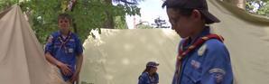 Yvelines : 20.000 scouts débarquent à Jambville en pleine canicule