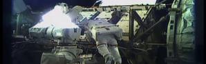 Première sortie historique de deux femmes dans l'espace
