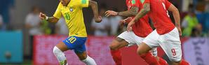 Neymar n'avait pas sa vivacité habituelle, ni son coup de rein.