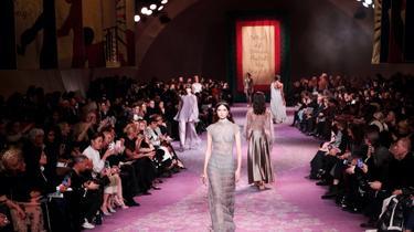 Illustration. Défilé Haute Couture Christian Dior de janvier 2020, avant la pandémie de Covid-19.
