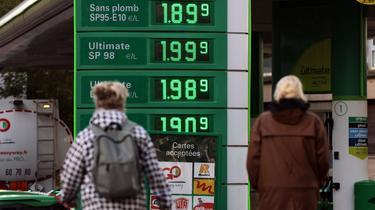 محطة بنزين في باريس