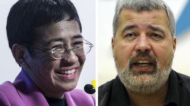 Le prix Nobel de la paix 2021 a été attribué le 8 octobre 2021 aux journalistes Maria Ressa (Philippines) et Dmitry Muratov (Russie).